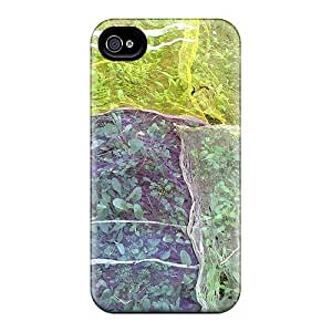 4/4s Scratch-proof Protection Case Cover For Iphone/ Hot Protecting Plants Phone Case
