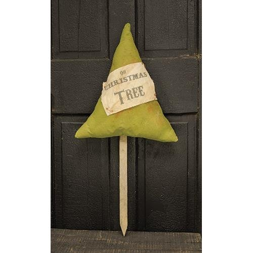 Heart of America Primitive Stuffed Tree Poke 30''