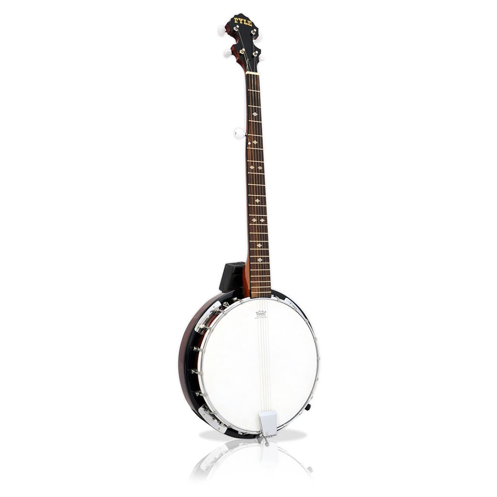 5-String Banjo with White Jade Tune Pegs & Rosewood Fretboard
