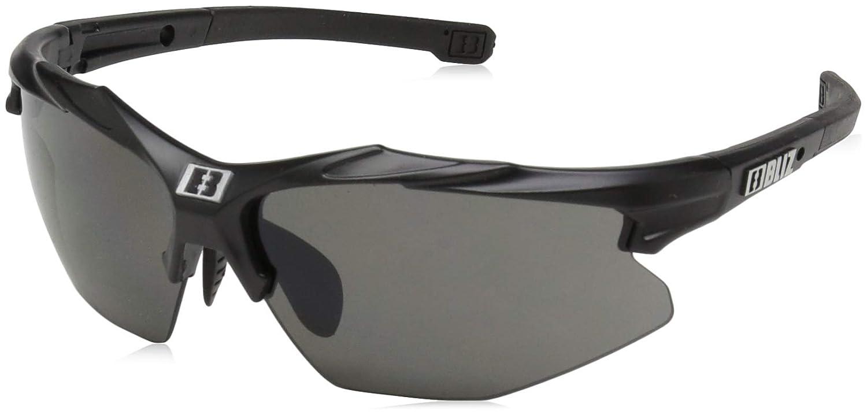 e62fd754cda Amazon.com  Bliz Active Hybrid Small Face (Velo Xt Update) Wrap Sunglasses  Matt Black 0 mm  Clothing