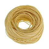 200ft Organic Beeswax Hemp Wick 100% Organic Hemp Wick Well Coated Natural Beeswax Making Candles(Light)
