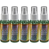 5 2oz Bottles of Birdz Eyewear Anti Fog Spray