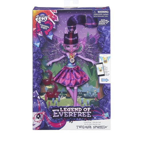 My Little Pony 14545 Legend of Everfree Crystal Wings Dolls