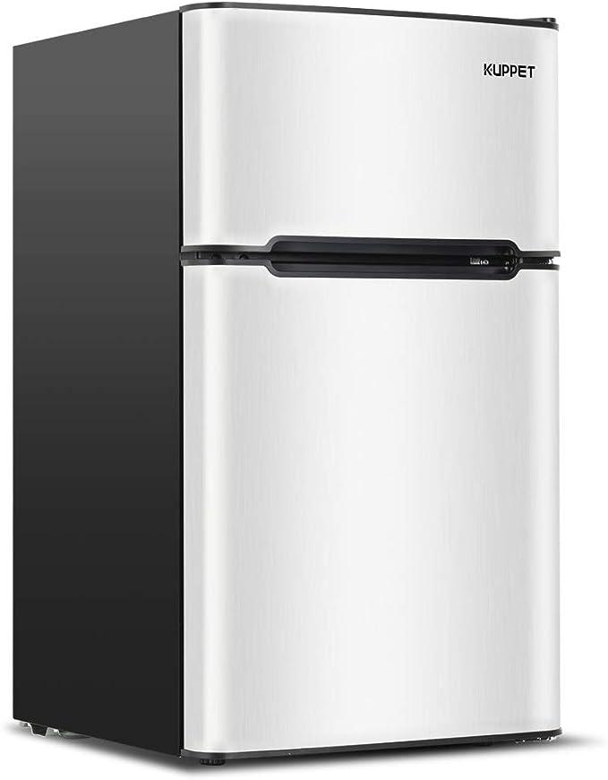 Kuppet Compact Refrigerator Mini Refrigerator for Camper