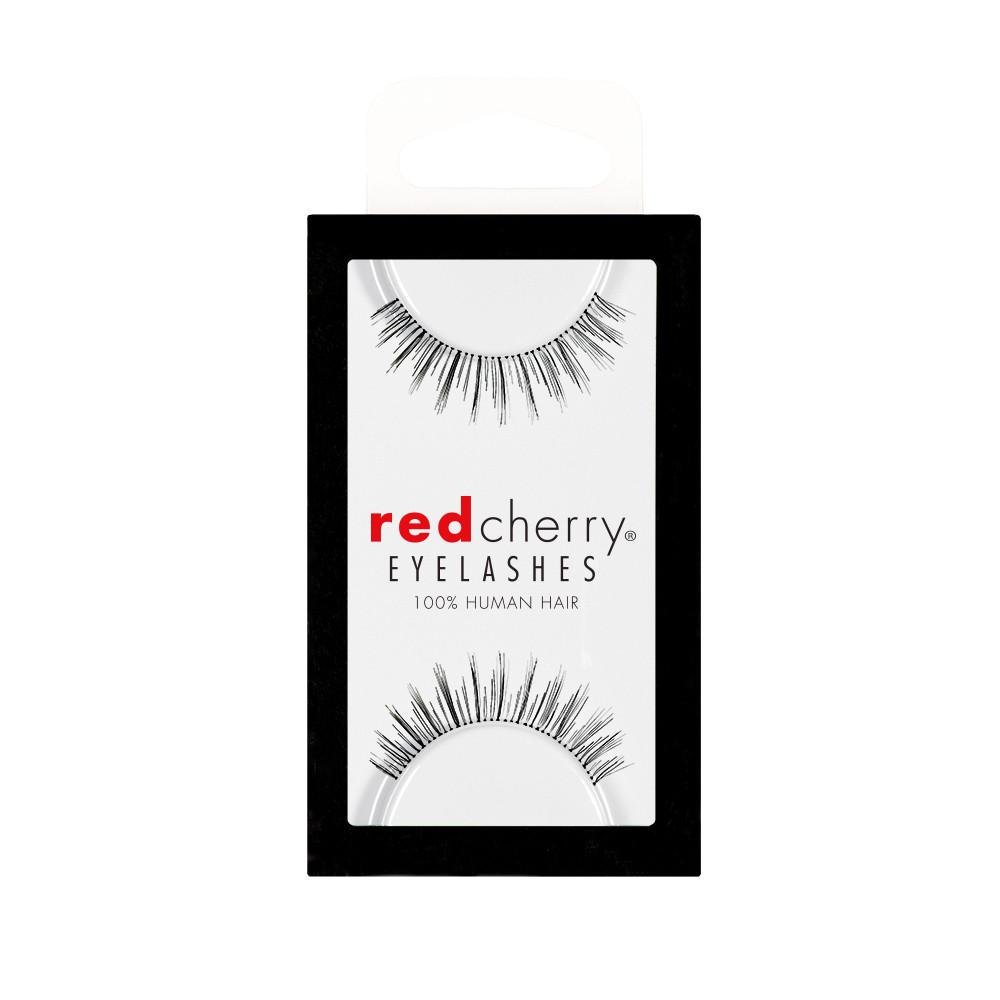 Red Cherry - Falsche Wimpern Nr. 601 - Echthaar Troika International Inc. LFTRC601