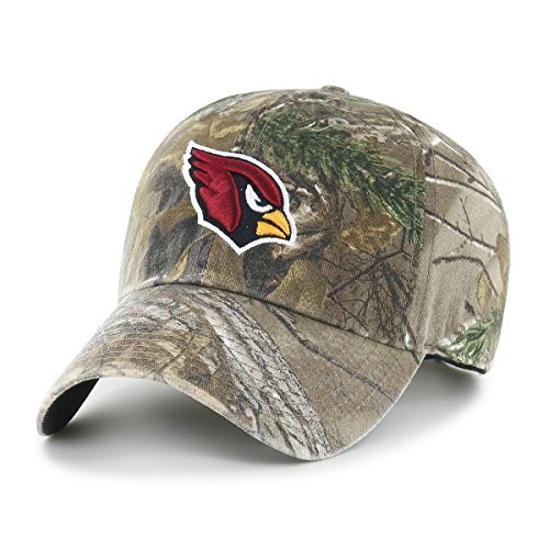 NFL Arizona Cardinals OTS Challenger Adjustable Hat, Realtree Camo, One Size