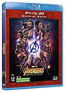 Avengers Infinity War : 3D and 2D Blu-Ray Combo