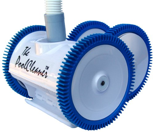 Hayward Poolvergnuegen 896584000-020 The Pool Cleaner Automatic Suction Pool Vacuum, 4-Wheel, White (Best Cheap Pool Vacuum)