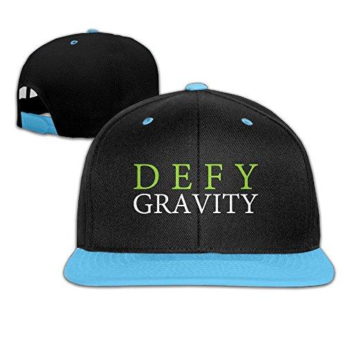 WYUZHEN Kid's Defy Gravity Hip-hop Snapback Hat Caps RoyalBlue
