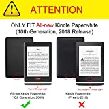 [3-Pack] Fintie Screen Protector for All-New Kindle Paperwhite (10th Generation, 2018 Release), Anti-Glare Screen Protectors Matte Film with Retail Package