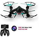 KingPow RC Quadcopter Flight Path FPV VR Wifi RC Drone 2.4GHz 6-Axis Gyro Remote Control Drone With HD 2MP Camera Drone