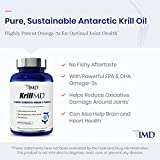 1MD KrillMD - Antarctic Krill Oil Omega 3