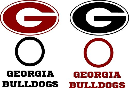 georgia bulldog corn hole - 6