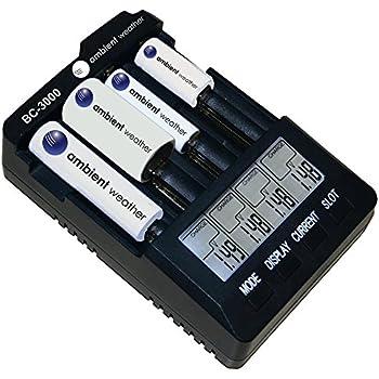 Amazon.com: Ambient Weather BC-2000 Intelligent Battery