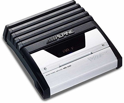 Alpine MRD-M301 V12 Mono Power Amplifier (Alpine V12 Amplifier)