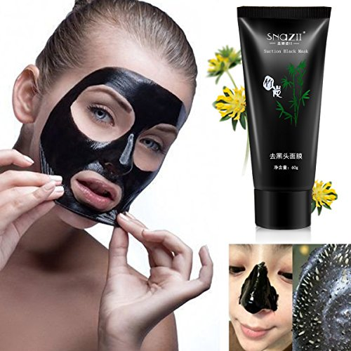 Black Peel Off Mask LuckyFine Blackhead Acne Removal Facial Deep Cleansing Purifying Whitening Mud Mask