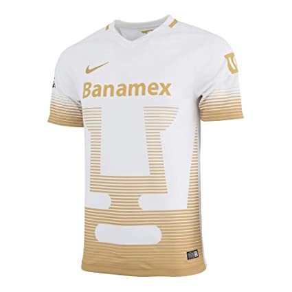 57e57104d99 Image Unavailable. Image not available for. Color  NIKE 2015-2016 UNAM Pumas  Away Replica Soccer Jersey ...