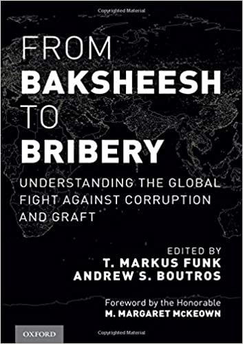 From Baksheesh To Bribery Understanding The Global Fight