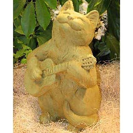 Amazon.com : Guitar CAT STATUE 12\