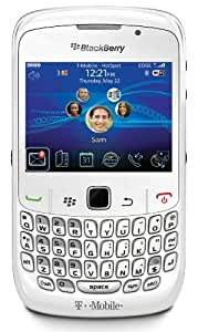 BlackBerry Curve 8520 Phone, White (T-Mobile)
