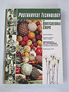Post Harvest Technology Of Horticultural Crops : Free ...