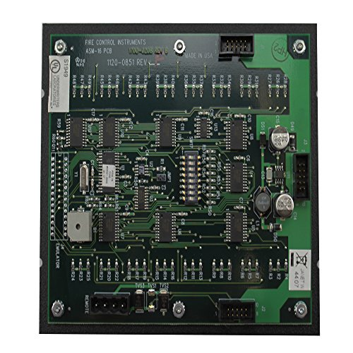 FCI 1100-0455 ASM-16 Addressable Programmable Switch Module by Fire Control Instruments (FCI) (Image #2)