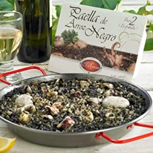 Macuin Authentic Arroz Negro Paella from Valencia (12.7oz , serves 2-4)