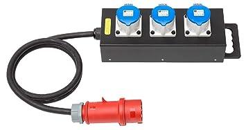 Gut bekannt INDU 32 Ampere Kleinverteiler - Starkstrom Stecker: Amazon.de: Garten AX14