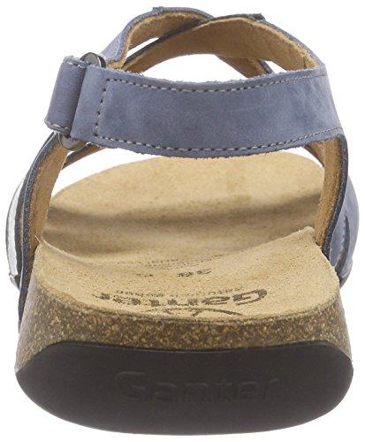 Ganter Giulia, Weite G - Sandalias Mujer Multicolor - Mehrfarbig (jeans/antrazit 3462)