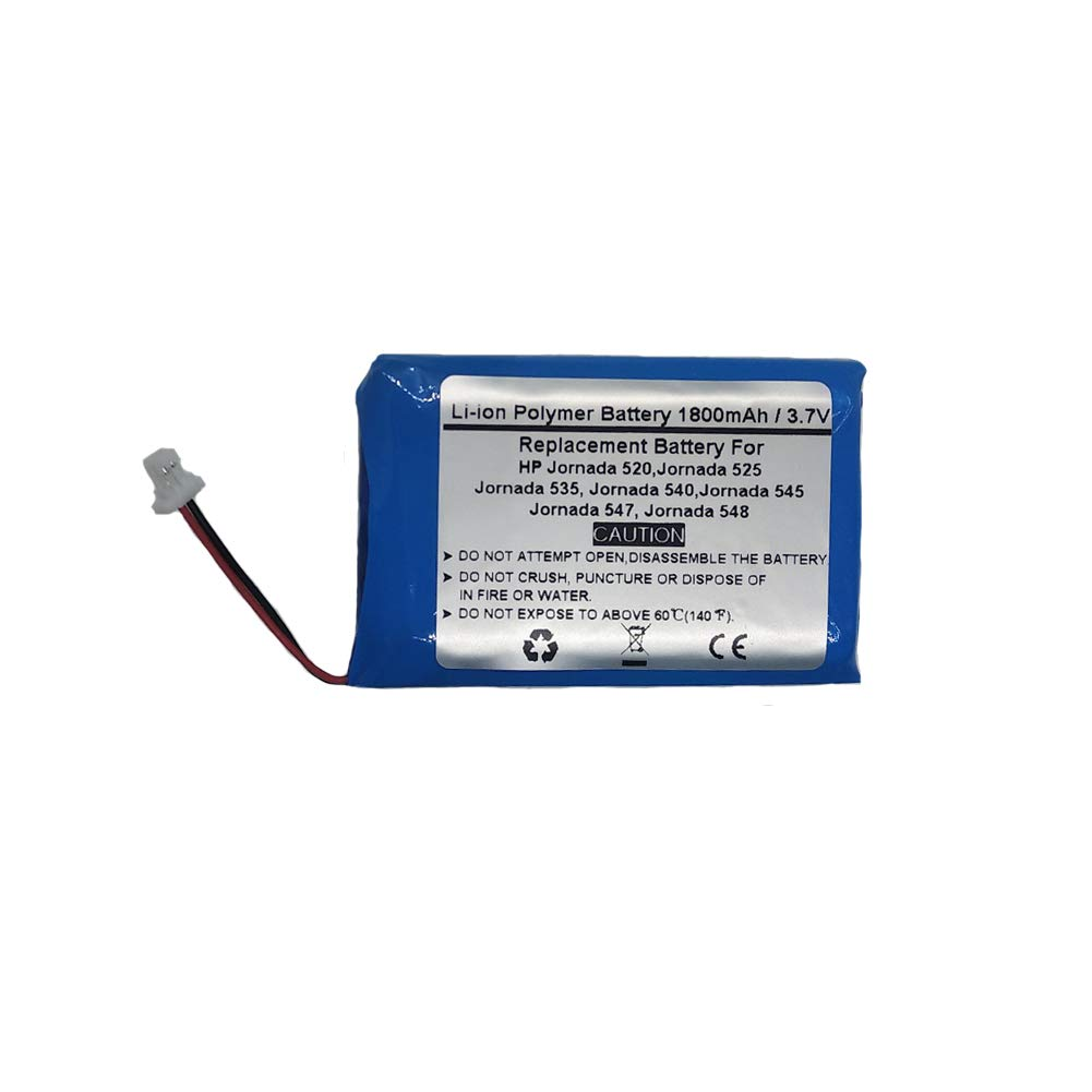1800mAh/3.7V Replacement Battery for PDA HP Jornada 520, 525, 535, 540, 545, 547, 548, HP 1JP147007063,F1798