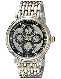 Thomas Earnshaw Men's ES-8043-44 Grand Calendar Analog Display Automatic Self Wind Two Tone Watch