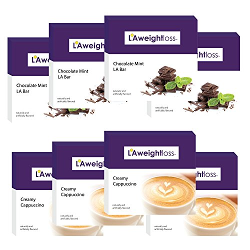 LA Weight Loss Lites - Chocolate Mint & Creamy Cappuccino - 8 Boxes by L A Weight Loss & Wellness (Image #9)