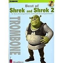 Best of Shrek and Shrek 2: 12 Solo Arrangements with CD Accompaniment Trombone