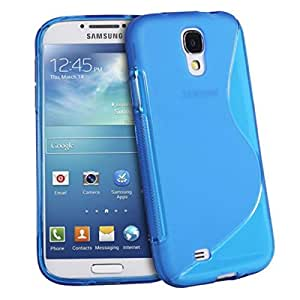 S4 Galaxy mini casco flexible S - Line azul