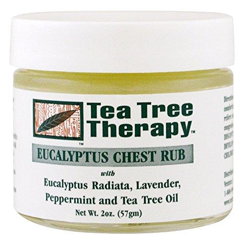 (Tea Tree Therapy, Eucalyptus Chest Rub, 2 oz (57 g) - 3PC)