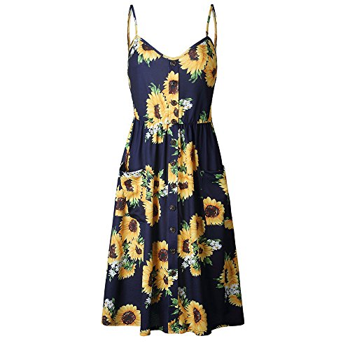 Ftd Stargazer Bouquet - ARINLA Summer Women Sexy Printing Buttons Off Shoulder Sleeveless Dress Princess Dress