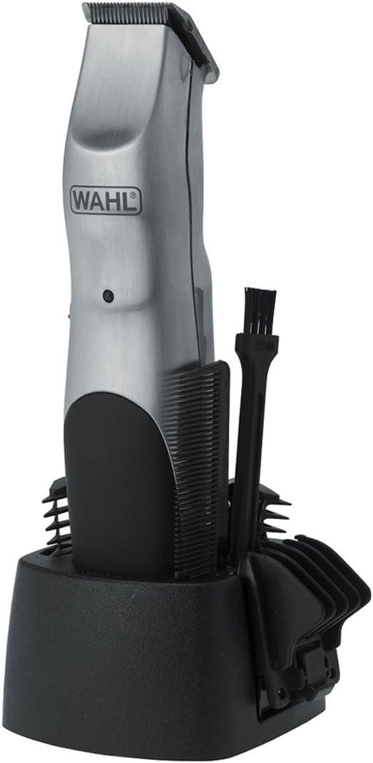 Wahl WA9918-1016 - Afeitadora (Carbon steel, Negro, Gris, 3 cm, 1.2 cm, 1 mm, 60 min): Amazon.es: Salud y cuidado personal
