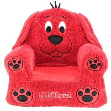 Amazon.com: Cojín para perro Clifford, acolchado de felpa y ...