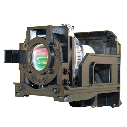 Front Projection Lamp (Dukane LT60LPK - Original OEM Front Projector Lamp with Housing by Ushio Lighting by FI Lamps)
