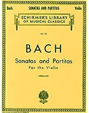 Sonatas and Partitas: Schirmer Library of Classics Volume 221 Violin Solo