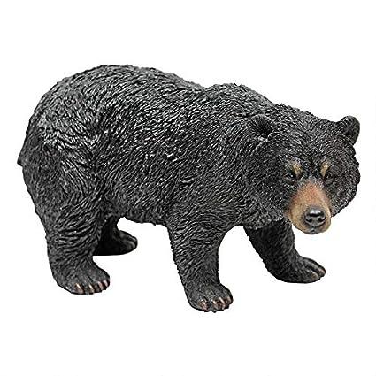Amazon.com: Design Toscano - Estatua de oso negro, Walking ...