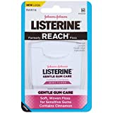 Dental Floss Woven Listerine Gentle Gum Care Woven Floss, Mint with Cinnamon, 6 Count