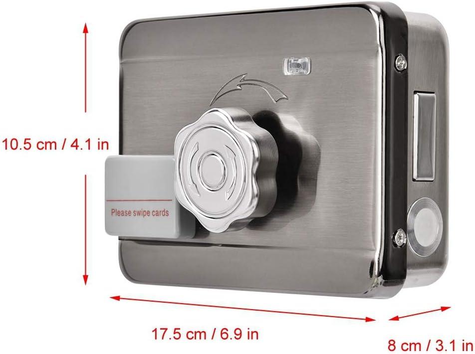 RFID Door Lock Control de acceso Kit,Inteligente Control remoto ID tarjeta entrada Control de acceso sistema Kit 12V Lock