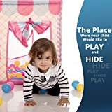 Kids Playhouse Tent, Ball Pit Play House for Happy Children, Outdoor and Indoor, Zippered Storage Bag (Balls Not Included) by Flyspro