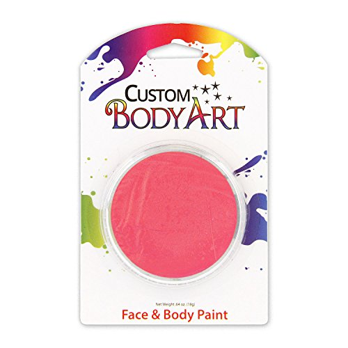 Custom Body Art LARGE 18ml Face Paint Color Single Colors 1-each (Pink) - Great for Parties, Halloween & Birthdays]()