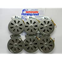 6 Mechanical Fisher's Yo Yo Fishing Reels -Package 1/2...
