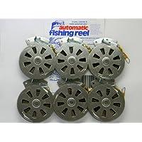 6 Mechanical Fisher's Yo Yo Fishing Reels -Package of 1/2...