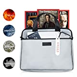 Fireproof Document Bag, Fire Protection Case, Safe Storage for Money, Passport, Jewelry & More   Made of Silicone Fiberglass, Water Resistant Material, Non-Corrosive, Non-Itchy, Waterproof, Large Size