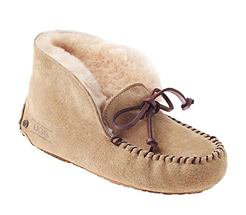 Shoes Ozwear Paux UGG Women's Peas Chestnut Sheepskin rxAqTz0XA
