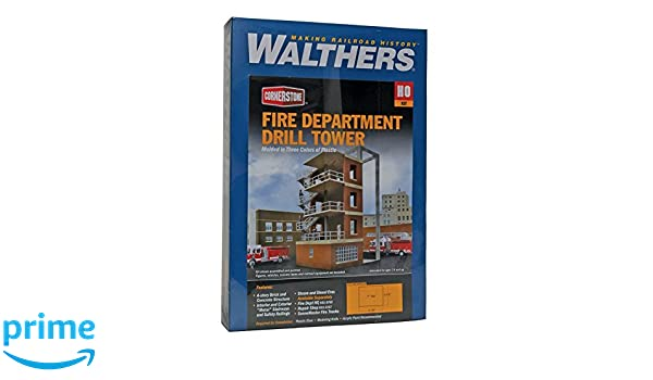 Walthers Cornerstone - Torre de Perforación para Fuego: Amazon.es: Amazon.es